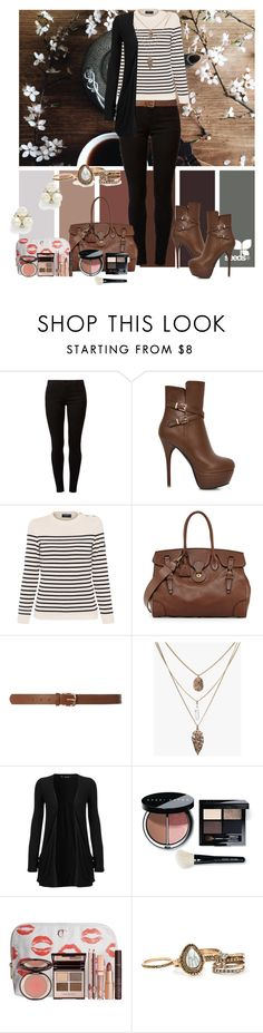 """Untitled #498"" by armsdani ❤ liked on Polyvore featuring Dorothy Perkins, Saint James, Ralph Lauren, WearAll, Bobbi Brown Cosmetics, Charlotte Tilbury and Ben-Amun"