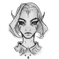 Away from home so here's a sketch from my Note4 Daily #character #sketch #art