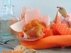 Muffins gorgonzola e pere