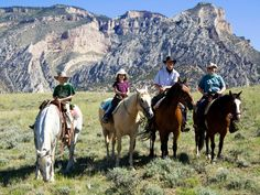 Experience the wild badlands on a horseback ride through Theodore Roosevelt National Park. The former president galloped through these vast prairies himself in the late 19th century. The park's trail system is open to horses, and some visitors choose to ride in on their own steed. For...