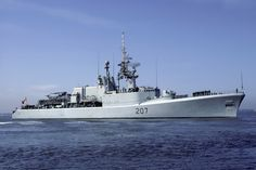 HMCS Skeena (DDH 207) - St. Laurent-class Destroyer Helicopter Escort (Canada)