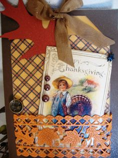 Happy Thanksgiving Card by AshbrookeSalutations on Etsy, $5.95