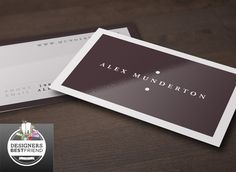 Check out Clear Simple Business Cards by Creative business Card on Creative Market