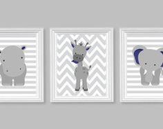 Nursery Decor, Elephant Nursery Art, Grey and Lemon Yellow, Baby Nursery Decor… Safari Theme Nursery, Jungle Nursery, Baby Nursery Decor, Nursery Neutral, Nursery Themes, Nursery Grey, Nursery Room, Mint Nursery, Nursery Prints