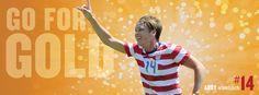 Abby Wambach, 'Go for the Gold.' (U.S. Soccer/Facebook)
