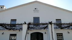 Wine Tasting in Tulbagh - South Africa | Rijk's Wine Estate
