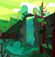 Steven Crewniverse Behind-The-Scenes Universe: From BG designer & Painter Eusong Lee: Hello. I...