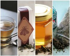 Herbal Tea Recipes - ingredients include anise hyssop, chocolate mint, lavender, bergamot......