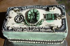 million dollar #grooms #cake