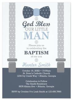 Christening Invitation for Baby Boy. 30 Christening Invitation for Baby Boy. Baptism Invitation For Boys, Christening Invitations Boy, Invitation Baby Shower, Baby Boy Christening, Baby Shower Invitations For Boys, Baby Boy Baptism Outfit, Boy Baptism Party, Baptism Outfits For Boys, Christening Gifts