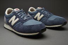 New Balance U420 Pigskin   Ripstop - Blue   White - Mens Shoes - Pro- bfcbb2ce7