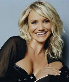 love cameron diaz's hair!