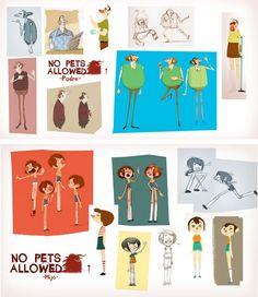 Very nice character Designs #design #illustration #art