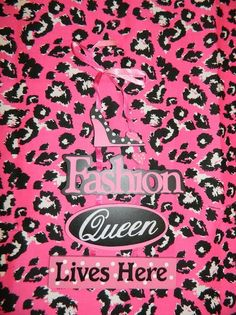 Polka  - The Fashion Queen Lives Here, $12.00 (http://stores.polkatheprincess.com/the-fashion-queen-lives-here/)