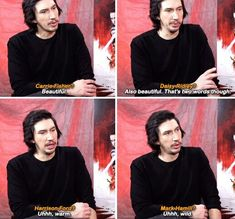 #Star Wars #Adam Driver