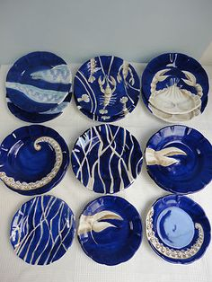 Vbc casa ceramic tableware handmade presented by tatjana kern - Piastrelle fornasetti ebay ...