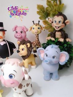 1 million+ Stunning Free Images to Use Anywhere Cute Polymer Clay, Polymer Clay Animals, Polymer Clay Crafts, Baby Elephant Cake, Safari Cakes, Jungle Cake, Clay Art Projects, Wild One Birthday Party, Fondant Animals