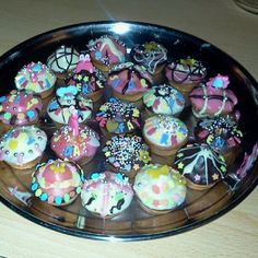 My mini #muffins! #Cupcakes decorated #sweet