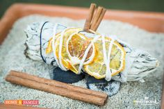 Make your own Incense Sticks w/ old dried up herbs. Use them to decorate, burn or even give as a gift! DIY by @edenmakersblog on Home and Family!