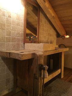 meuble vasque salle de bain rustique - Recherche Google | salles de ...