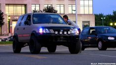 Honda CRV 1st Generation with Lift, Flares and Tires