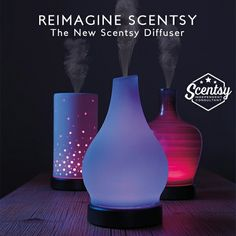 Scentsy stunning diffusers