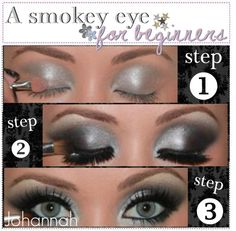 """How to; Smokey eye for beginners. ♥"" by the-tip-jarxx ❤ liked on Polyvore"