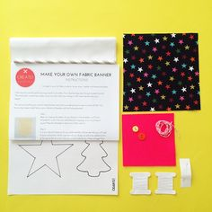 Modern Christmas Kits - Find out about Create! Craft kits - the different kits, how the collaboration came about and get tips and inspiration for your own creations!
