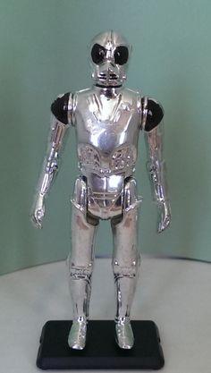 VINTAGE 1977 STAR WARS DEATH STAR DROID DEATHSTAR ROBOT ACTION FIGURE NM C9.9
