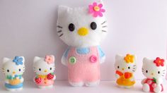 How to make Hello Kitty soft toy (quick and easy tutorial)