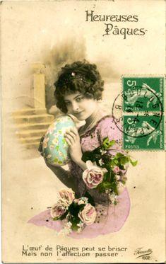cartes postales d'amour anciennes - Buscar con Google