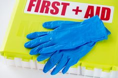 Wearing gloves while treating an injury may feel like overkill, but it's the best way to protect both yourself and the injured person from infection. You'll find two pairs medical grade, latex-free, nitrile gloves in your MacGill First Aid Kit.  http://ow.ly/mxK5300NT78