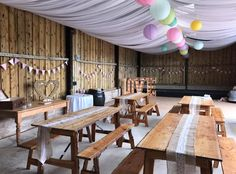 Rustic barn wedding -Britannia Catering Yeovil Hire Rustic Barn, Catering, Conference Room, Wedding Decorations, Decorating Ideas, Table, Furniture, Home Decor, Catering Business