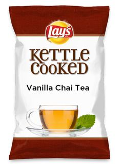 Wouldn't Vanilla Chai Tea be yummy as a chip? Lay's Do Us A Flavor is back, and the search is on for the yummiest flavor idea. Create a flavor, choose a chip and you could win $1 million! https://www.dousaflavor.com See Rules.