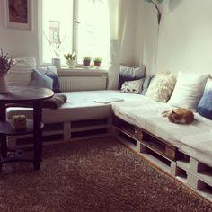 DIY Europaletten Couch