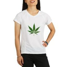 Performance Dry T-Shirt - Weed Clothing for women who love weed!