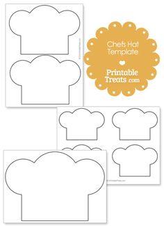 Chef Hat Paper Craft Template #4 | #lesson-plans# | Pinterest ...