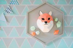 Jaime's Geometric Fox Themed Party – Sweets tablescape details Geometric Fox, Party Themes, Party Ideas, Party Sweets, Tablescapes, Birthday, Home Decor, Birthdays, Decoration Home
