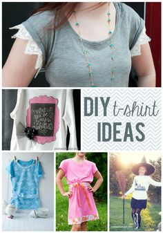 30 Ways to reinvent a plain t-shirt