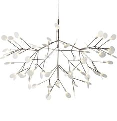 LED pendant #lamp HERACLEUM II by @Moooi The Unexpected Welcome | #design Bertjan Pot