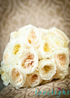 Beautiful chic vintage wedding bouquet by Bella by Sara. Photos by Lovelight Photodesign.