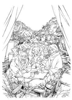 Tokyo Godfathers by Satoshi Kon Godfather Characters, Tokyo Godfathers, Satoshi Kon, Manga Illustration, Character Design References, Studio Ghibli, Line Art, Comic Art, Manga Anime