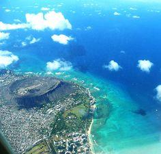 DiamondHead on Oahu