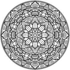 Krita Circles Mandala 2 by WelshPixie on DeviantArt