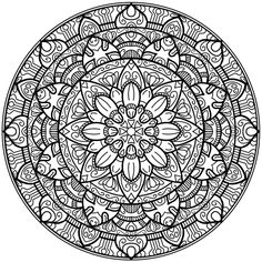 Krita Circles Mandala 2 by WelshPixie on DeviantArt