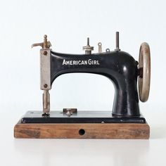 Vintage American Girl Sewing Machine by bellalulu on Etsy, $145.00