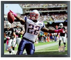 "Steven Ridley 2012 NE Patriots - 11"" x 14"" Photo in a Glassless Sports Frame"