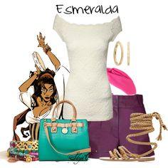 """Esmeralda - Disney's Hunchback of Notre-Dame"" by rubytyra on Polyvore"
