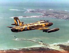 ☆ South African Air Force ✈ Impala Mk II South African Air Force, Defence Force, Port Elizabeth, Cheetahs, Korean War, Aviation Art, Air Show, Military Aircraft, Impalas