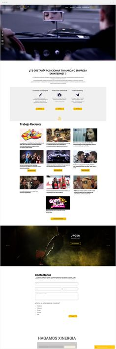 Xinermedia | Design + Films How To Speak Spanish, Projects To Try, Films, Web Design, Explore, Website, 2016 Movies, Design Web, Movies